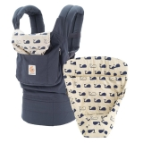 Nosič Ergobaby Set Bundle of Joy Easy Snug Marine