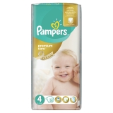 PAMPERS Premium Care 4 MAXI 8-14 kg plienky 52ks