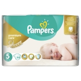PAMPERS Premium Care 5 JUNIOR 11-18 kg plienky 44ks