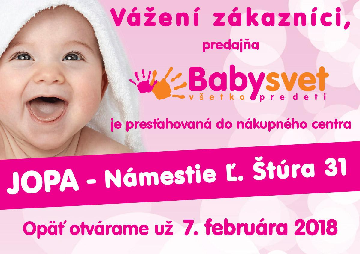 802e1b377a Babysvet - Všetko pre deti